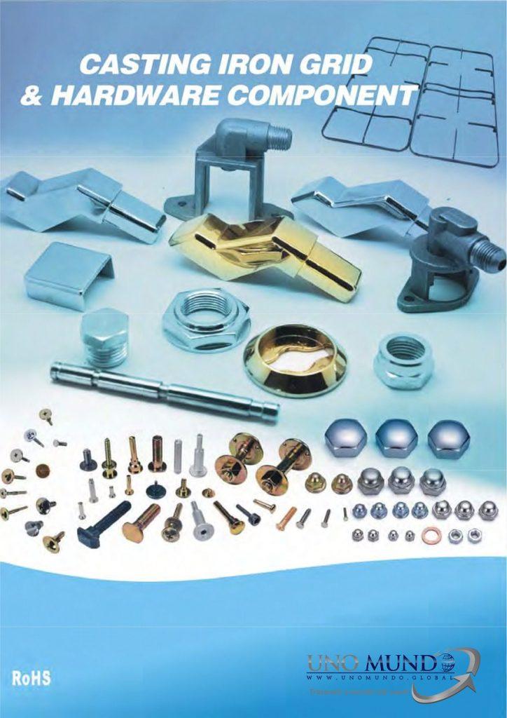 Casting Iron Grid e Hardware Component