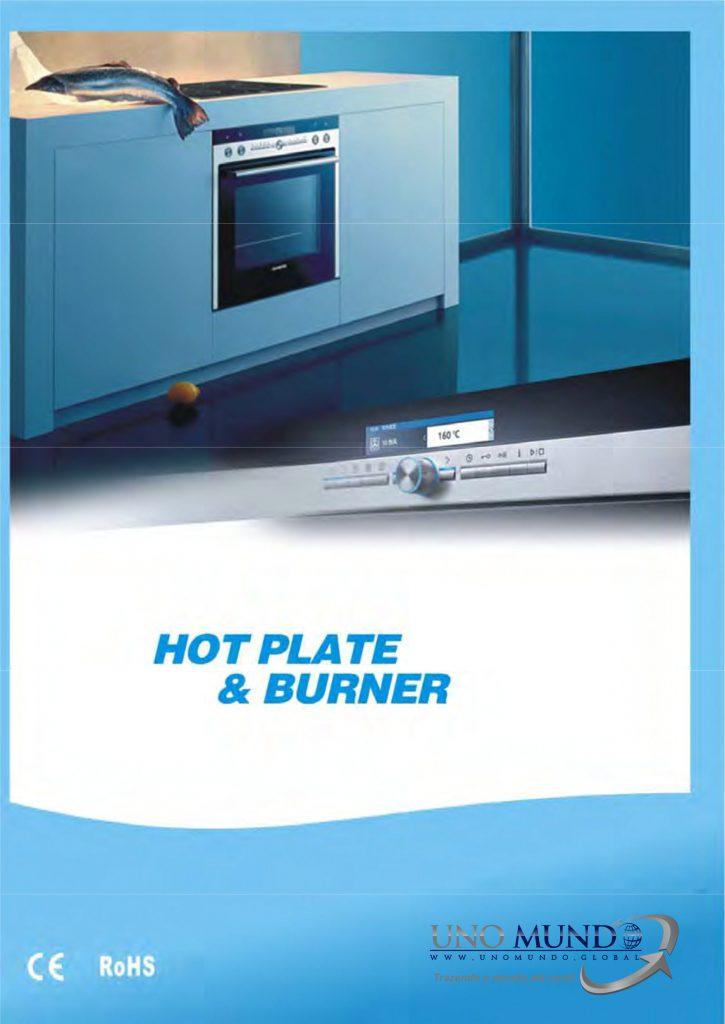 Hot Plate e Burner